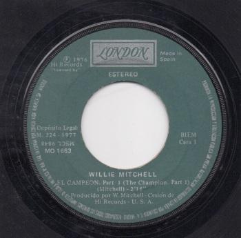 WILLIE MITCHELL - EL CAMPEON Pt. 1 ( THE CHAMPION Part. 1)