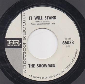 SHOWMEN - IT WILL STAND