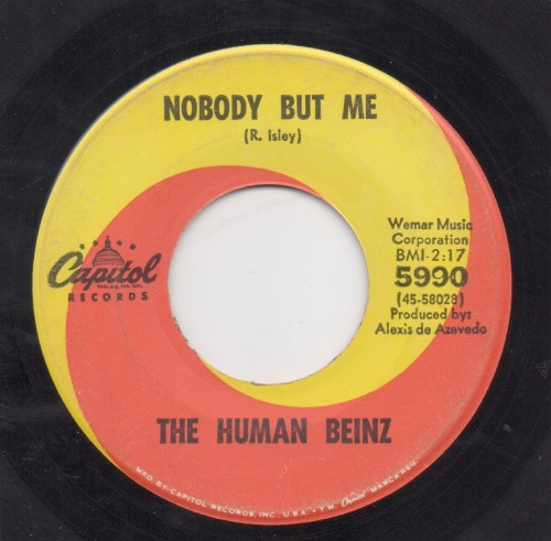 THE HUMAN BEINZ - NOBODY BUT ME