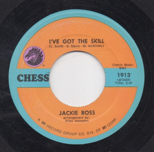 JACKIE ROSS - I'VE GOT THE SKILL