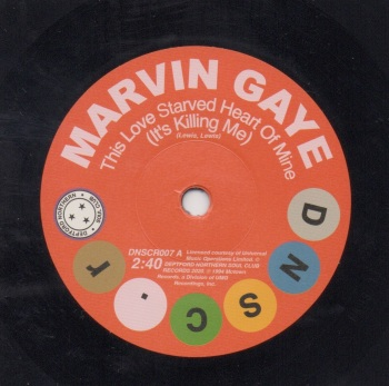 MARVIN GAYE - THIS LOVE STARVED HEART OF MINE