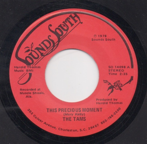 THE TAMS - PRECIOUS MOMENT