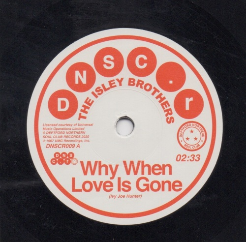ISLEY BROTHERS - WHY WHEN LOVE IS GONE
