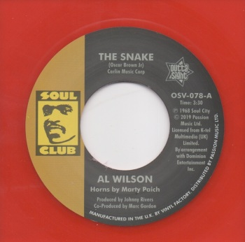 AL WILSON - THE SNAKE