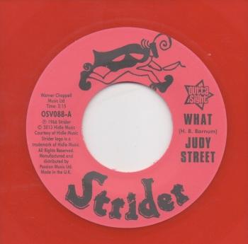 JUDY STREET - WHAT