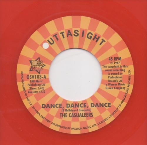 THE CASUALEERS - DANCE, DANCE, DANCE