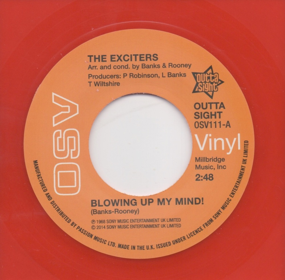 THE EXCITERS - BLOWING UP MY MIND!