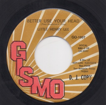 LITTLE HENRY LEE - BETTER USE YOUR HEAD