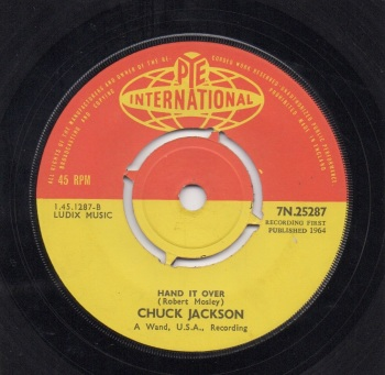 CHUCK JACKSON - HAND IT OVER
