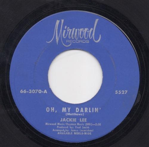 JACKIE LEE - OH, MY DARLIN'