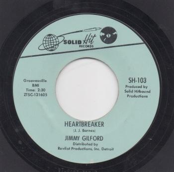 JIMMY GILFORD - HEARTBREAKER