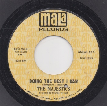 THE MAJESTICS - DOING THE BEST I CAN