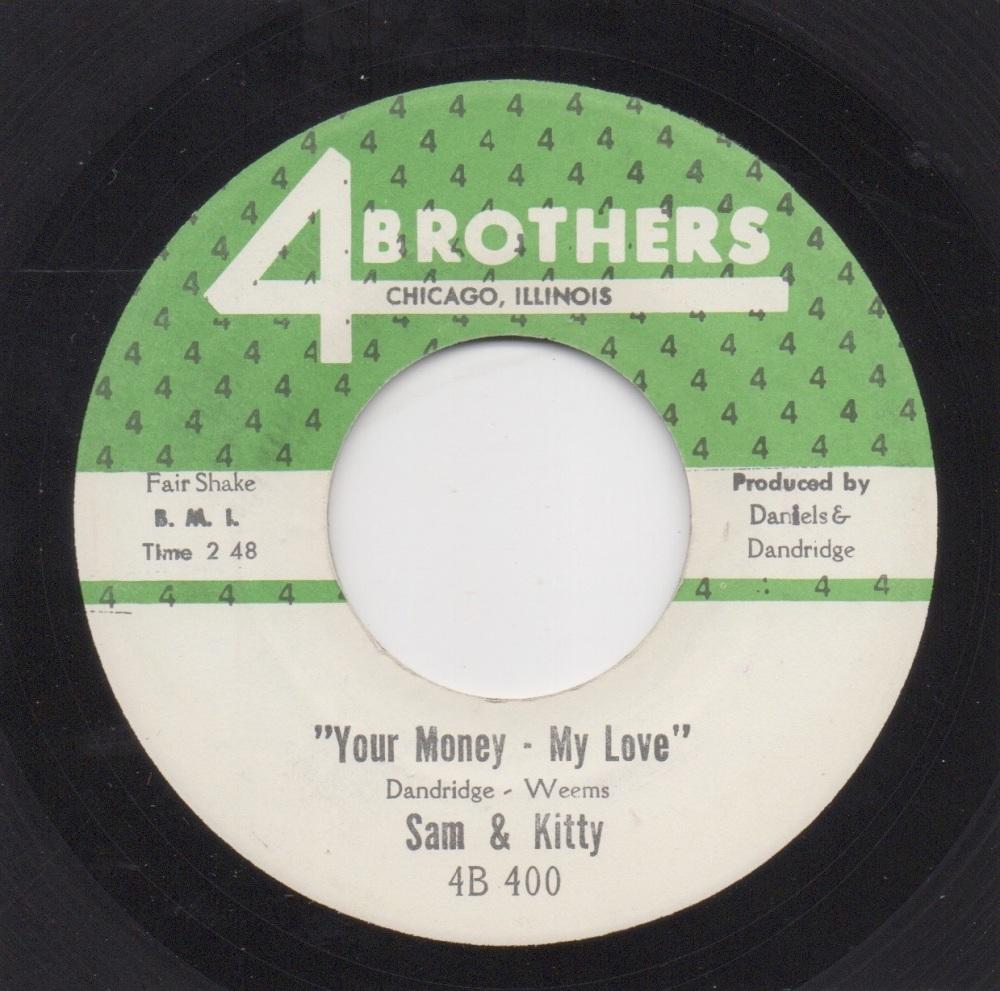 SAM & KITTY - YOUR MONEY - MY LOVE