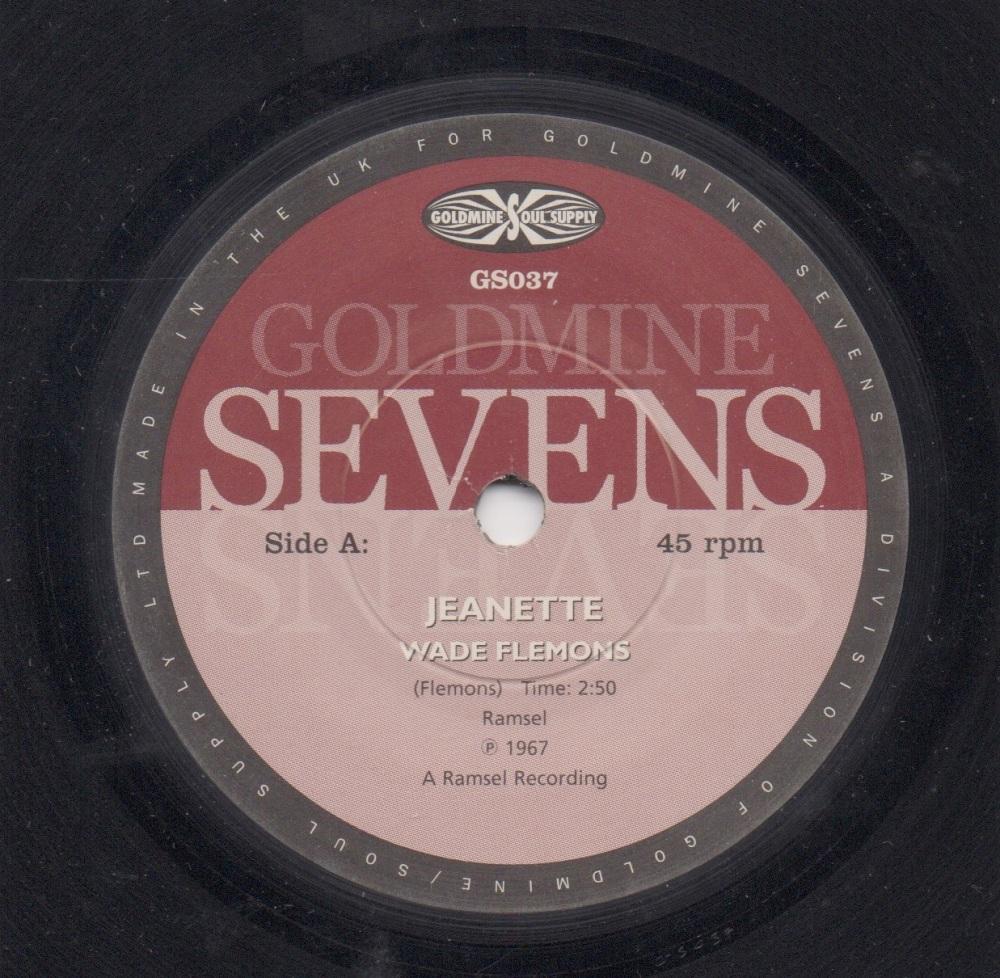 WADE FLEMONS - JEANETTE