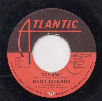DEON JACKSON - OOH BABY