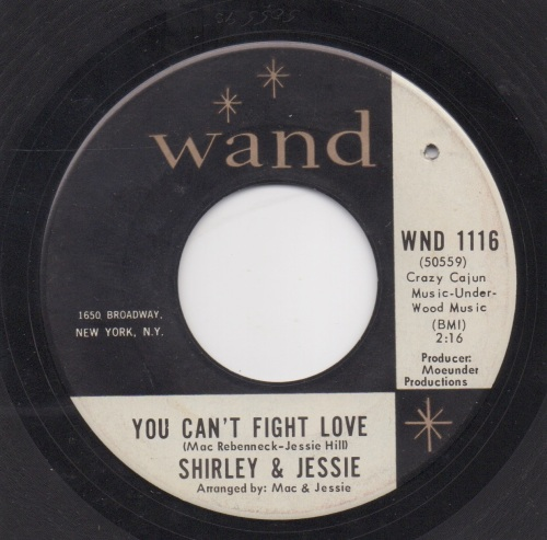 SHIRLEY & JESSIE - YOU CAN'T FIGHT LOVE