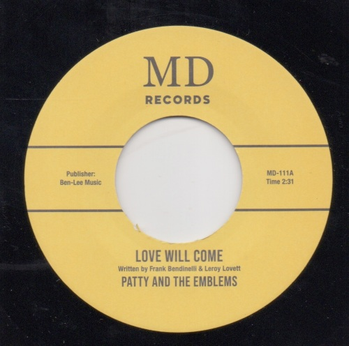 PATTY & THE EMBLEMS - LOVE WILL COME