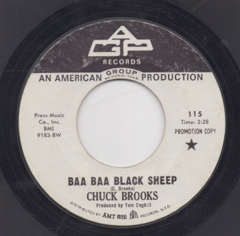 CHUCK BROOKS - BAA BAA BLACK SHEEP