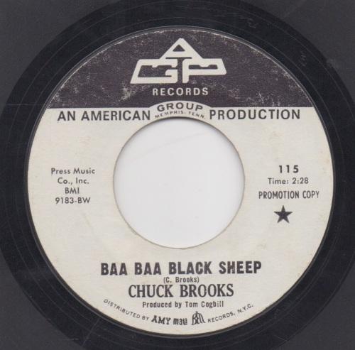 CHUCK BROOKS - BAA BAA BLACK SHEEP