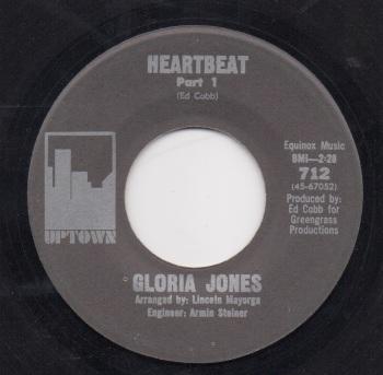 GLORIA JONES - HEARTBEAT (PART. 1)