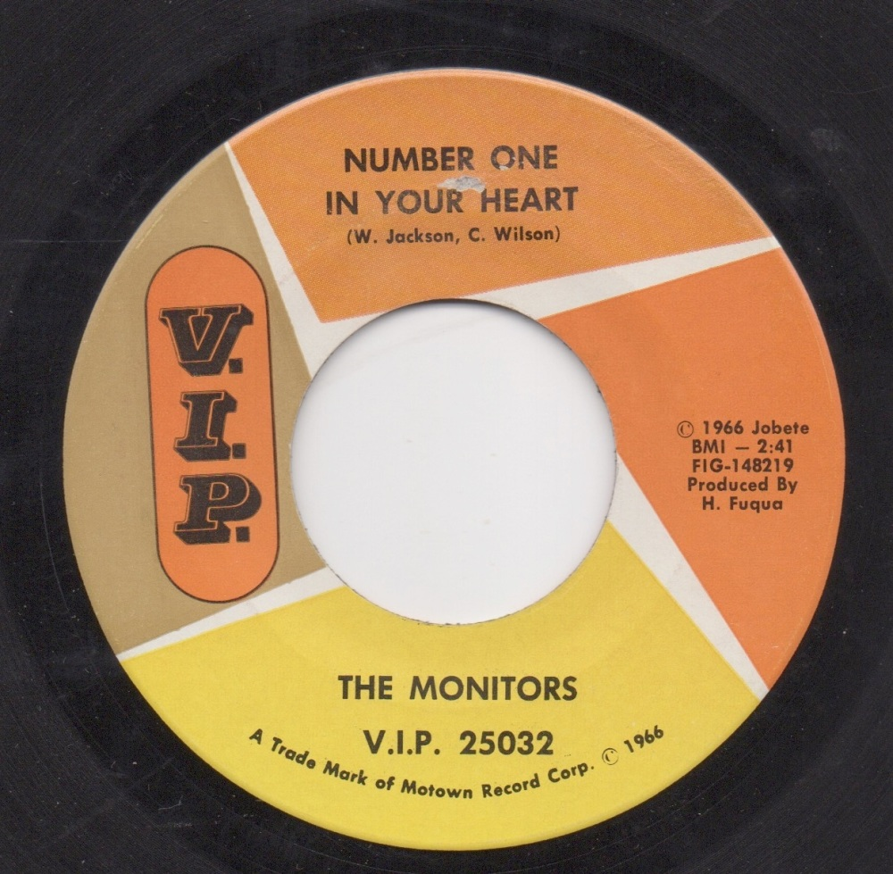 MONITORS - NUMBER ONE IN YOUR HEART
