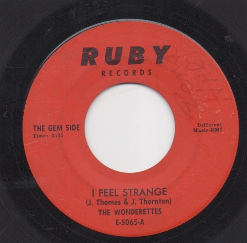 WONDERETTES - I FEEL STRANGE