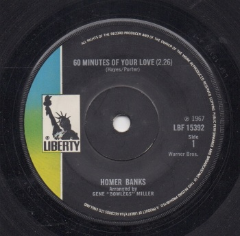 HOMER BANKS - 60 MINUTES OF YOUR LOVE