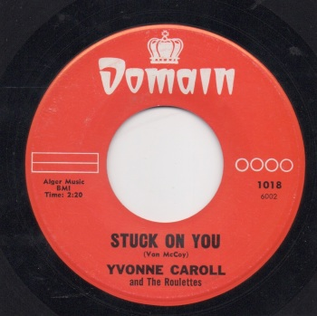 YVONNE CAROLL - STUCK ON YOU