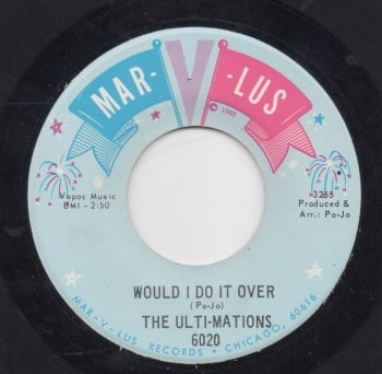 ULTI-MATIONS - WOULD I DO IT OVER