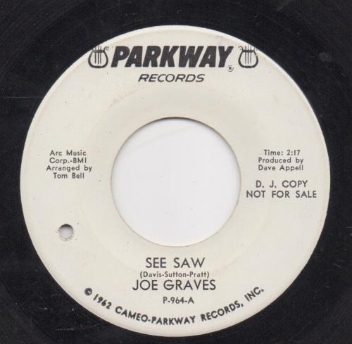 JOE GRAVES - SEE SAW