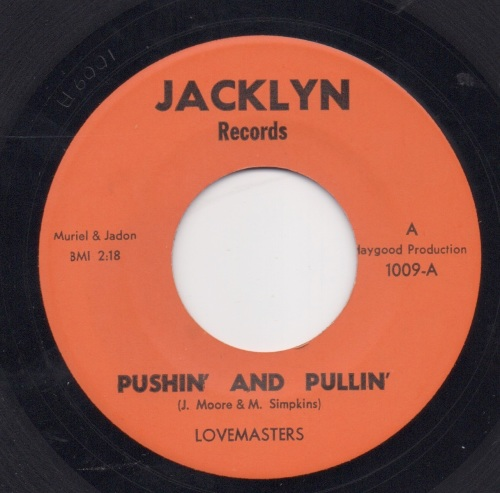 LOVEMASTERS - PUSHIN' & PULLIN'