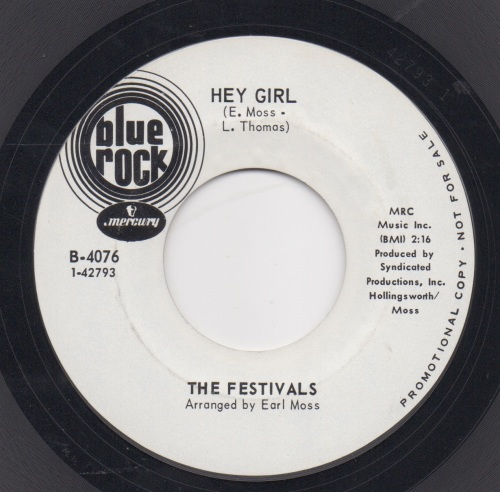 FESTIVALS - HEY GIRL