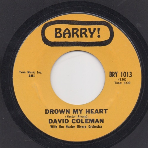 DAVID COLEMAN - DROWN MY HEART
