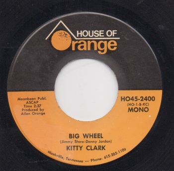 KITTY CLARK - BIG WHEEL