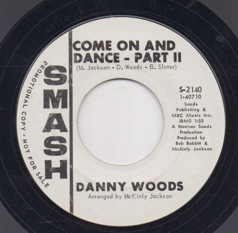 DANNY WOODS - COME ON AND DANCE - PART II