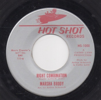 MARSHA BRODY - RIGHT COMBINATION