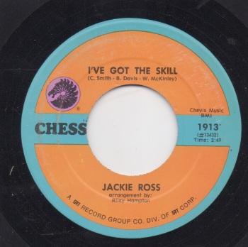 JACKIE ROSS - I'VE GOT THE SKILL