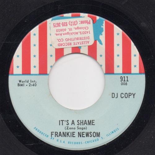 FRANKIE NEWSOM - IT'S A SHAME