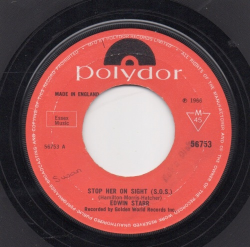 EDWIN STARR - STOP HER ON SIGHT (S.O.S.)