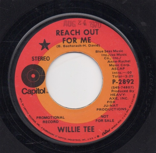 WILLIE TEE - REACH OUT FOR ME