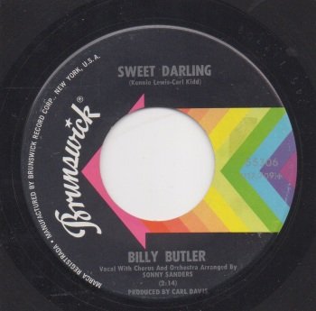 BILLY BUTLER - SWEET DARLING / HELP YOURSELF