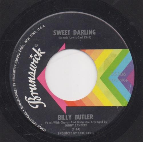 BILLY BUTLER - SWEET DARLING