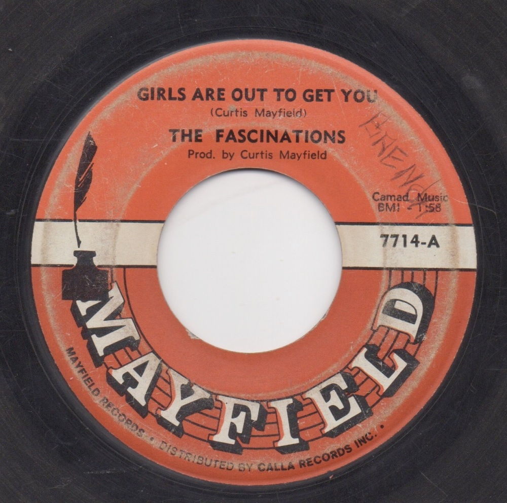 FASCINATIONS - GIRLS ARE OUT TO GET YOU