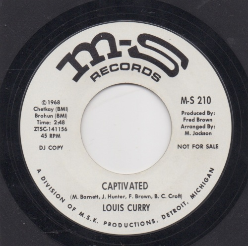 LOUIS CURRY - CAPTIVATED