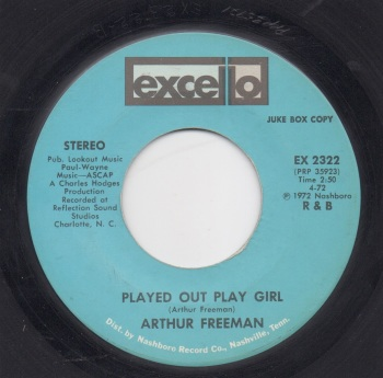 ARTHUR FREEMAN - PLAYED OUT PLAY GIRL