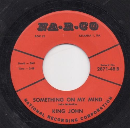 KING JOHN - SOMETHING ON MY MIND