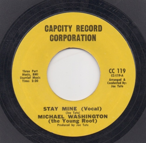 MICHAEL WASHINGTON (the Young Root) - Stay Mine (Vocal)