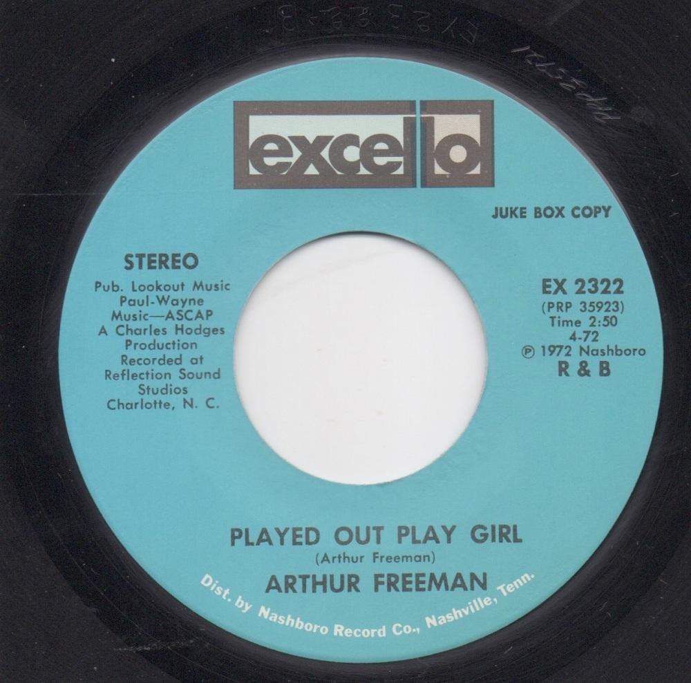 ARTHUR FREEMAN - PLAYED OUT PLAY GIRL