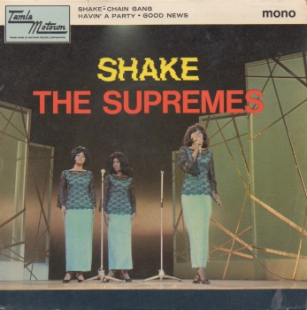 SUPREMES - SHAKE EP