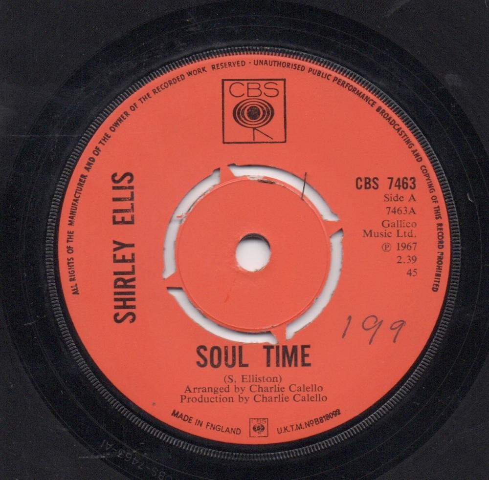 SHIRLEY ELLIS - SOUL TIME